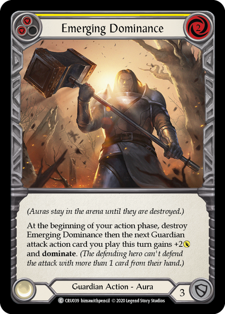 Emerging Dominance (Yellow) - Foil | Fab Empire