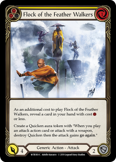 Flock of the Feather Walkers (2) (Foil) | Fab Empire