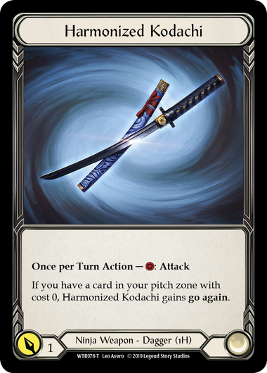Harmonized Kodachi (Cold Foil Promo) | Fab Empire