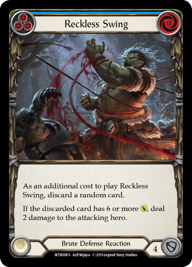 Reckless Swing (Foil) | Fab Empire