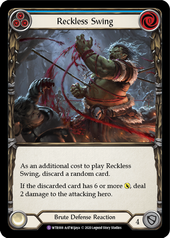 Reckless Swing (Foil) - [UNLIMITED] | Fab Empire