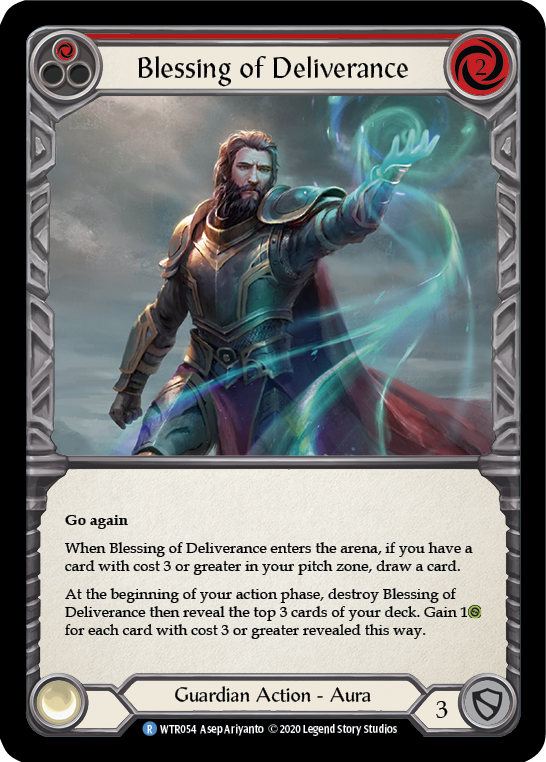 Blessing of Deliverance (1) (Foil) - [UNLIMITED] | Fab Empire