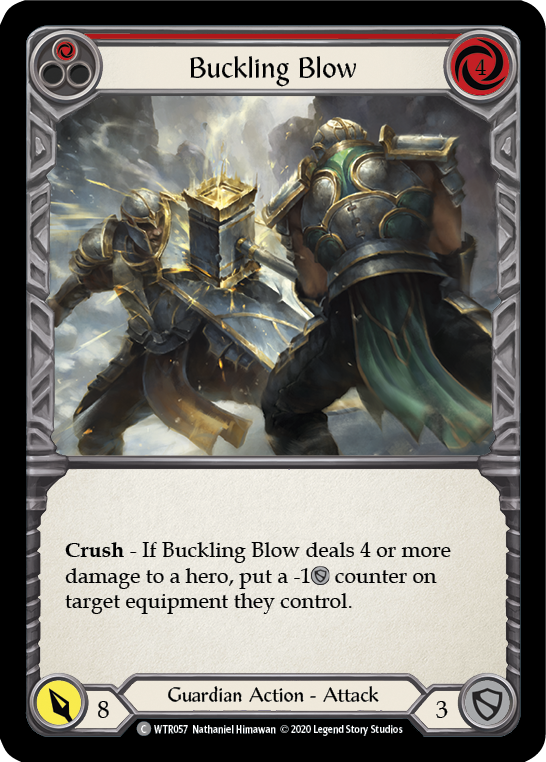 Buckling Blow (1) (Foil) - [UNLIMITED] | Fab Empire