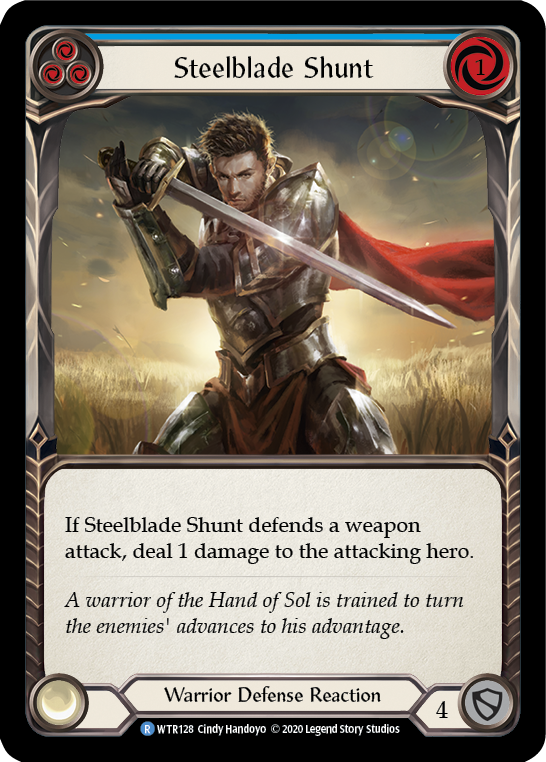 Steelblade Shunt (3) - [UNLIMITED] | Fab Empire