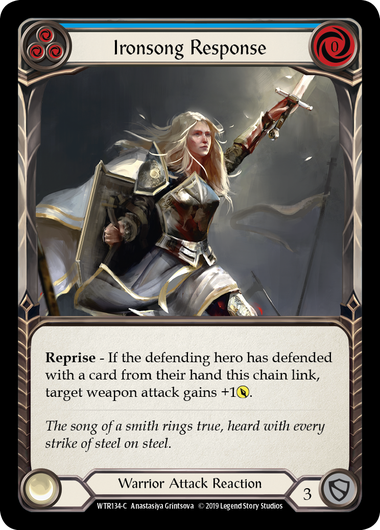 Ironsong Response (3) (Foil) | Fab Empire