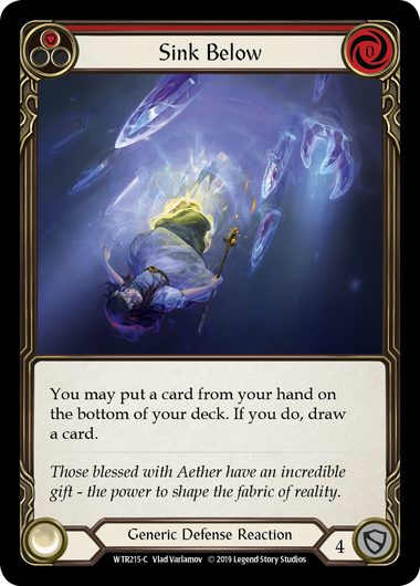 Sink Below (1) (Foil) | Fab Empire