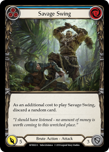Savage Swing (3) (Foil) | Fab Empire