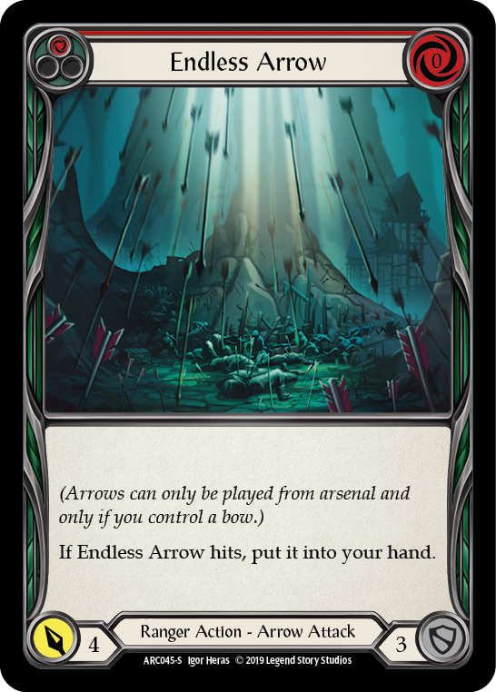 Endless Arrow [ARC045-S] 1st Edition Rainbow Foil | Fab Empire