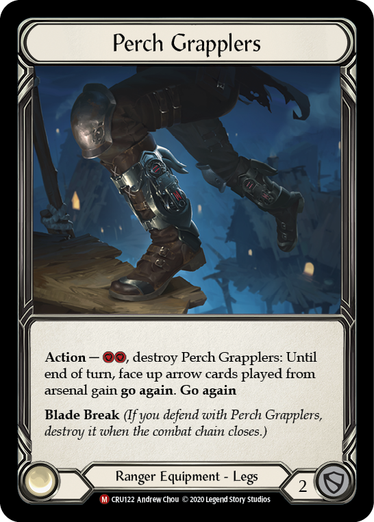 Perch Grapplers [CRU122] 1st Edition Cold Foil | Fab Empire