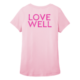 Love Well Ladies Scoop Neck Tee