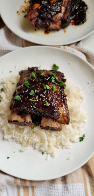 Perfect Pear Spiced Ribs