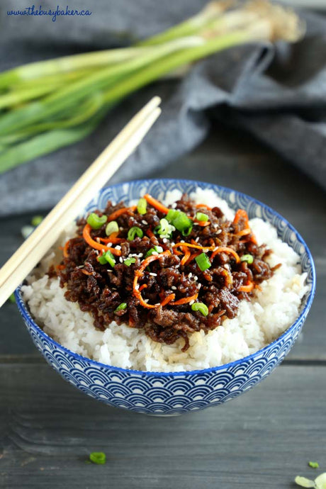 Easy Korean Rice Bowls
