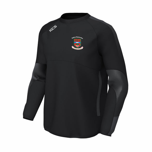 Ballina Stephenites GAA KCS Edge Contact Windcheater / BLACK