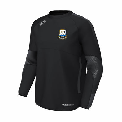Ballinasloe GAA KCS Edge Contact Windcheater / BLACK