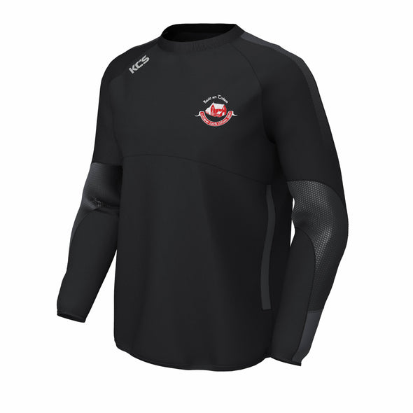Ballintubber GAA KCS Edge Contact Windcheater / BLACK