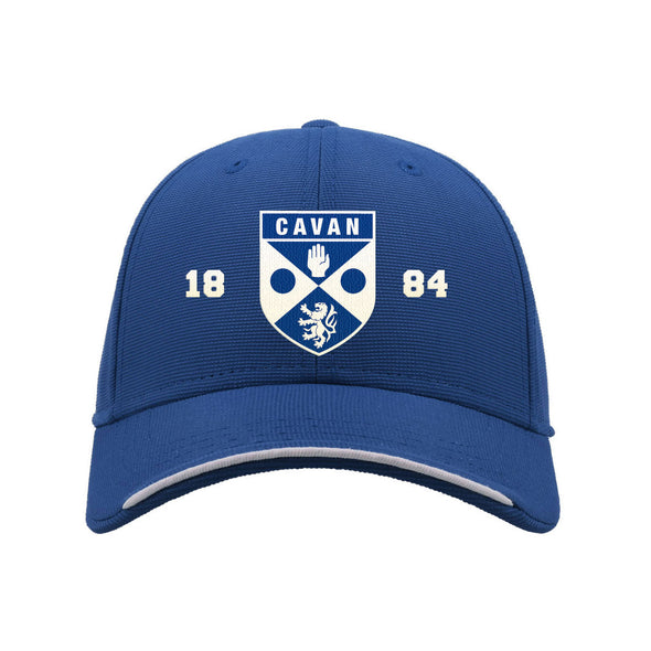 KCS Cavan Baseball Cap / White / Royal