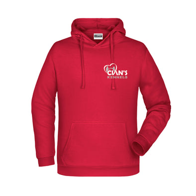 Cian's Kennels Hoodie / Red
