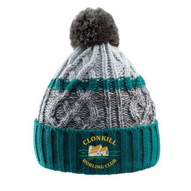 Clonkill Hurling Club 'Trail' Bobble Hat