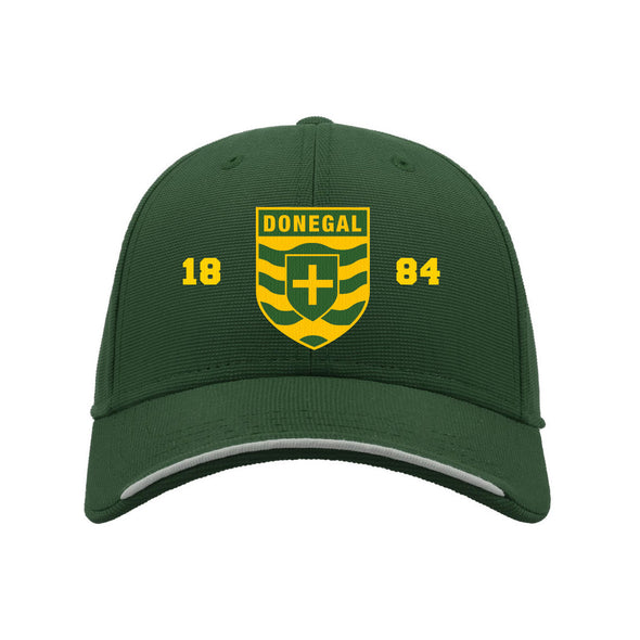 KCS Donegal Baseball Cap / Gold / Bottle Green