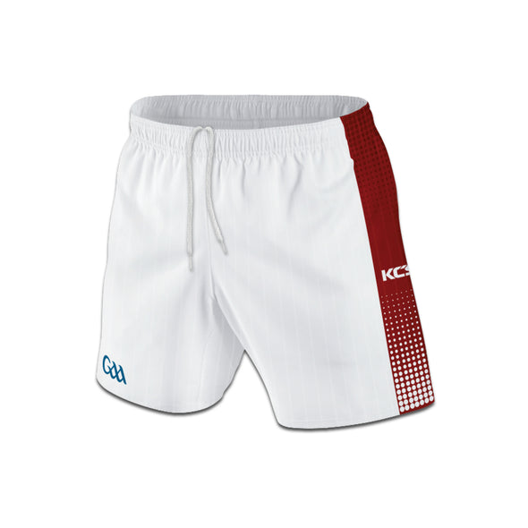 GAMEDAY SHORTS (White / Red)