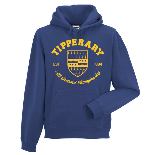 KCS County 'Tippperary' Hoodie / Gold / Royal Blue