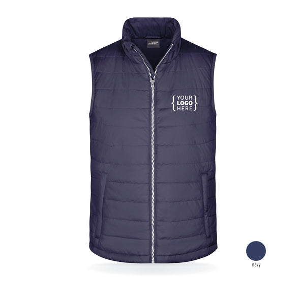 KCS Embroidered Padded Gilet (Unisex)