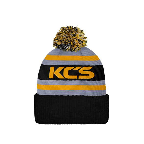 NFL Beanie Hat (Black, Grey & Gold)