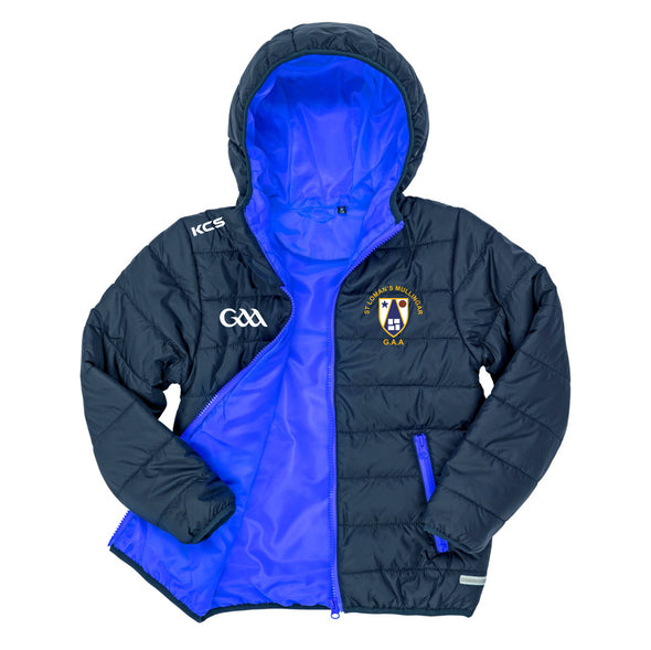 St. Loman's  GAA KCS Siro Puffer Kids Jacket Navy / Royal
