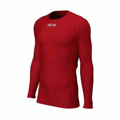 KCS Techfit Compression Long Sleeve Top / Red