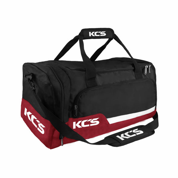 KCS Tempo Bag (Black, Dark Red & White)