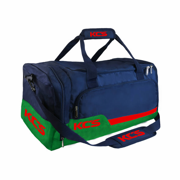 KCS Tempo Bag (Navy, Green & Red)