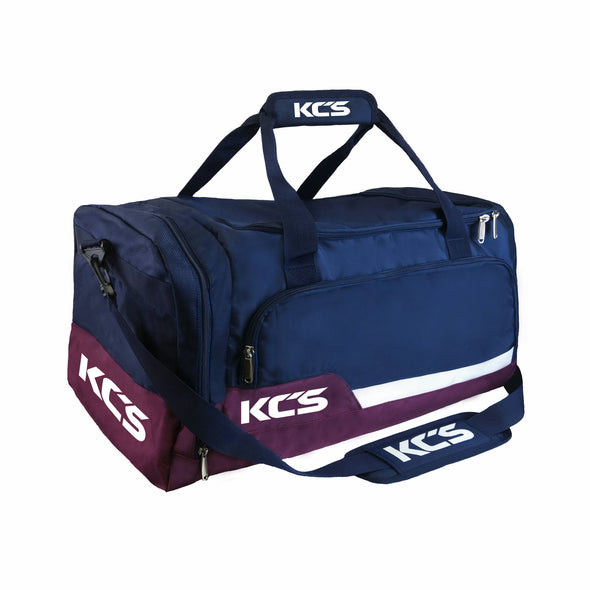 KCS Tempo Bag (Navy, Maroon & White)