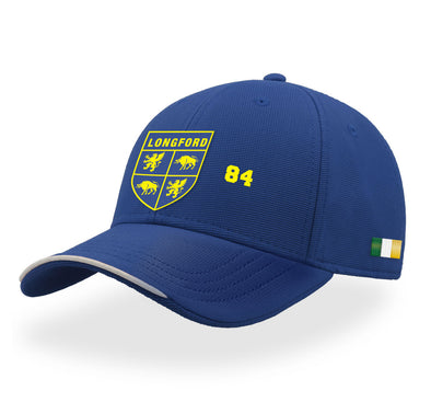 KCS Longford Baseball Cap / Gold / Blue