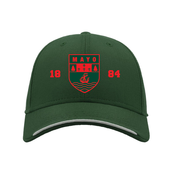 KCS Mayo Baseball Cap / Red / Bottle Green