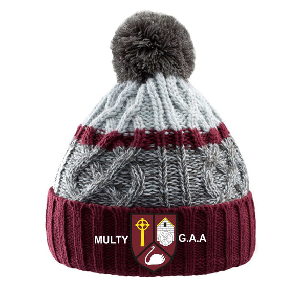Multyfarnham GAA 'Trail' Bobble Hat