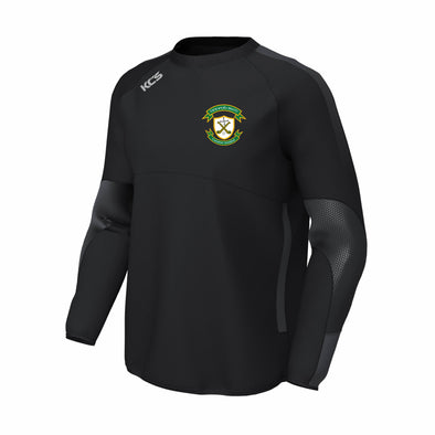 St. Brigids Hurling Club KCS Edge Contact Windcheater / BLACK