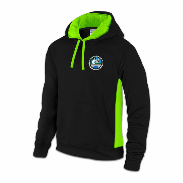 St Mary's Rochfortbridge  Mercury Hoodie / Lime Green / Blk