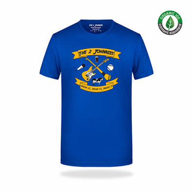The 2 Johnnies Original T-Shirt - Royal