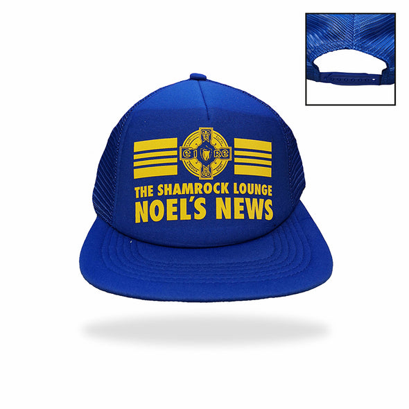 "The 2 Johnnies ""Noel's News"" Cap (ROY & GLD)"