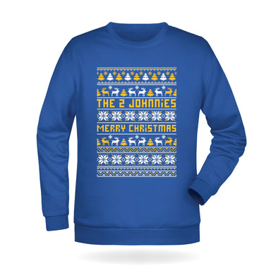 The 2 Johnnies Christmas Sweatshirt