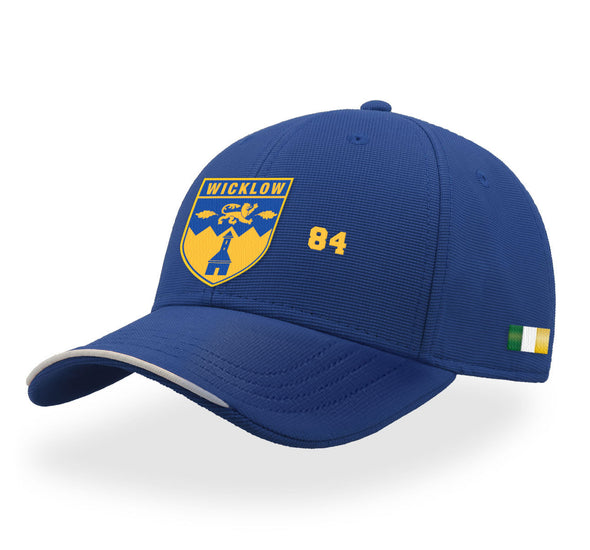 KCS Wicklow Baseball Cap / Gold / Royal