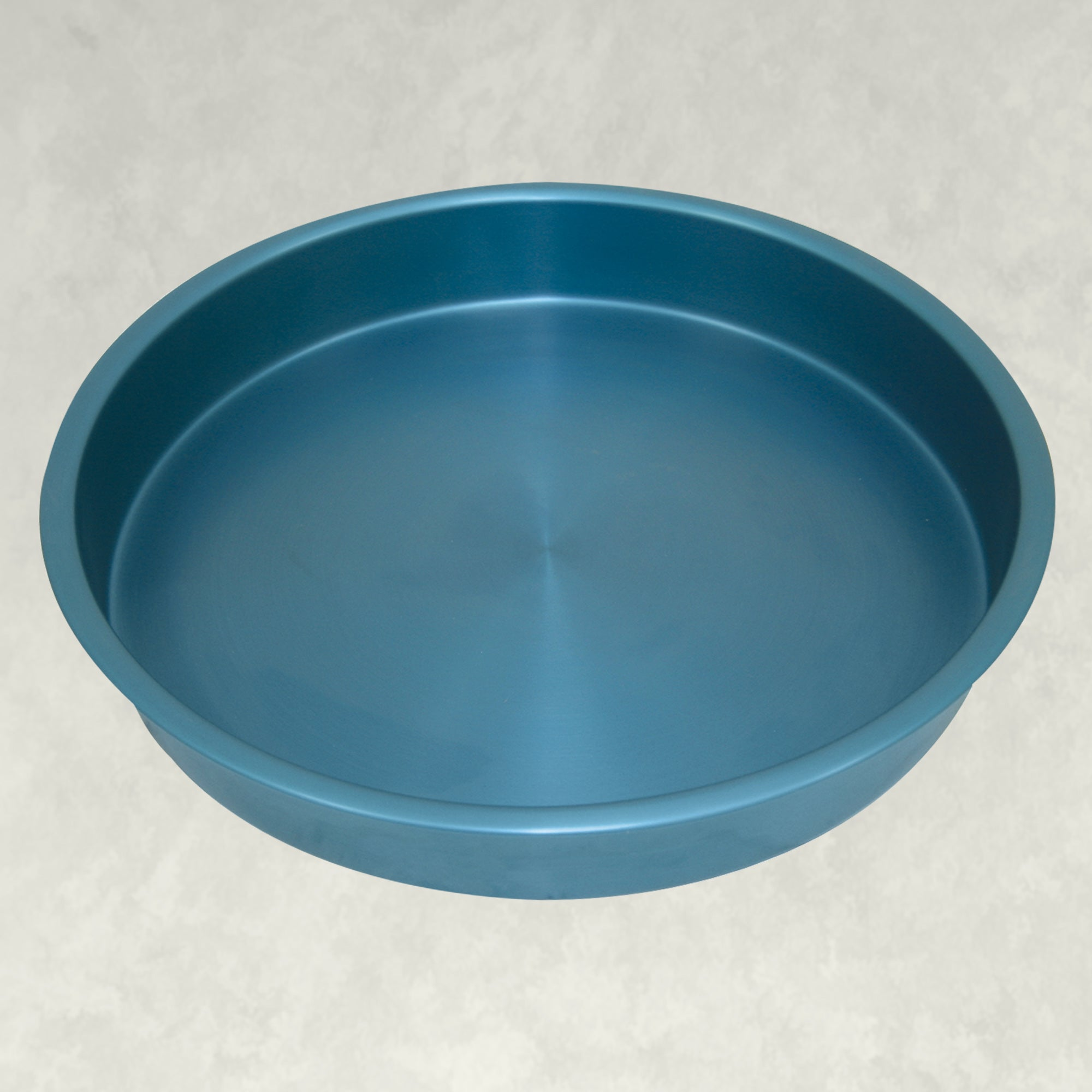 14-in Blue Anodized Aluminum Serving Tray ~ 4-pc Set