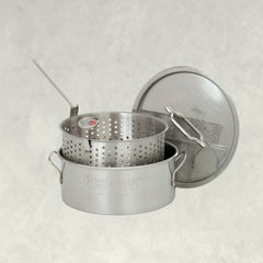 10-qt Stainless Fry Pot
