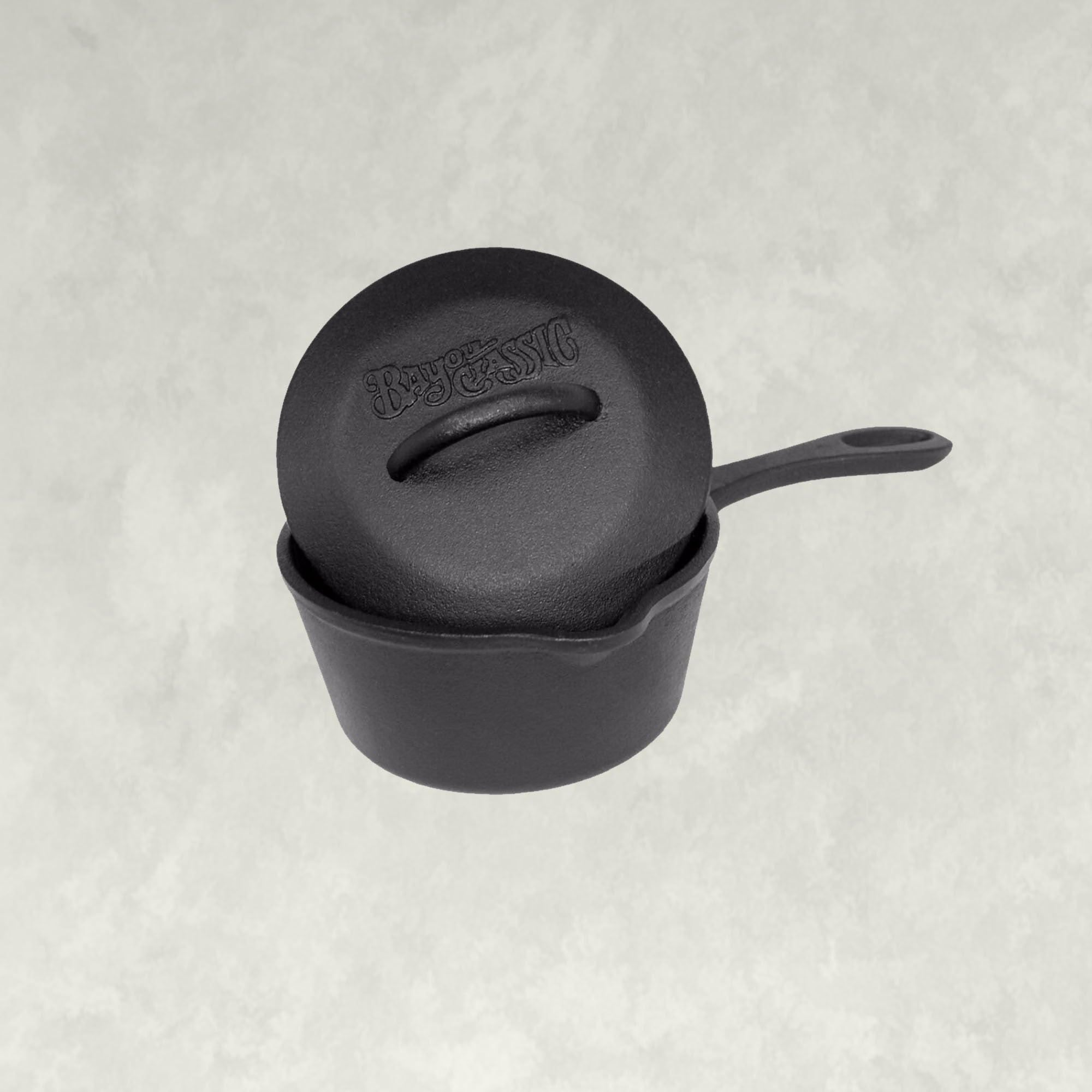 1-qt Cast Iron Sauce Pot