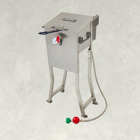 2.5-gal Stainless Bayou® Fryer