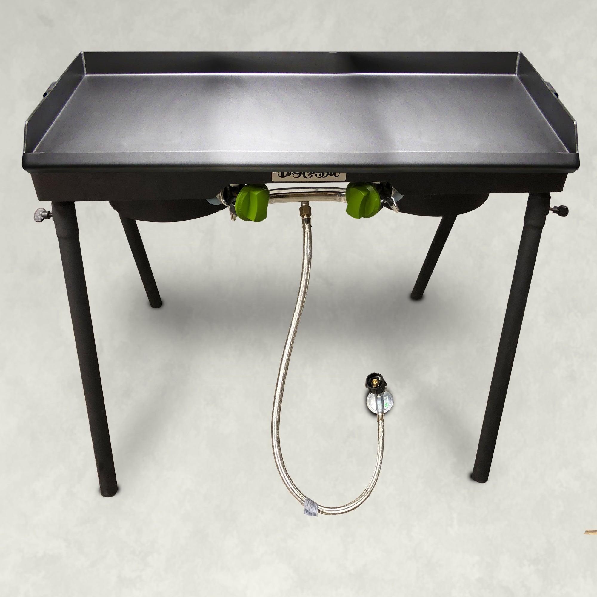 Dual Patio Camp Stove with Double Griddle