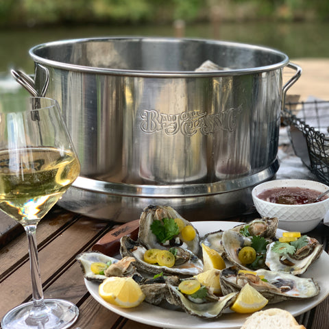 Stainless Oyster Steamer