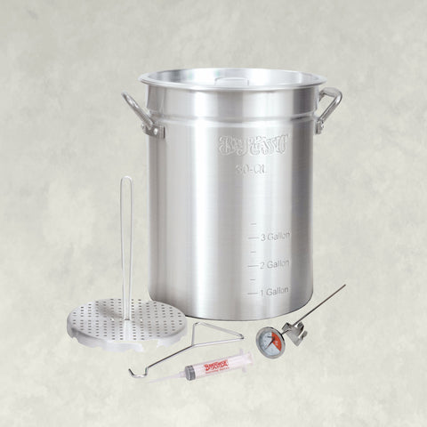 30-qt Aluminum Turkey Fryer