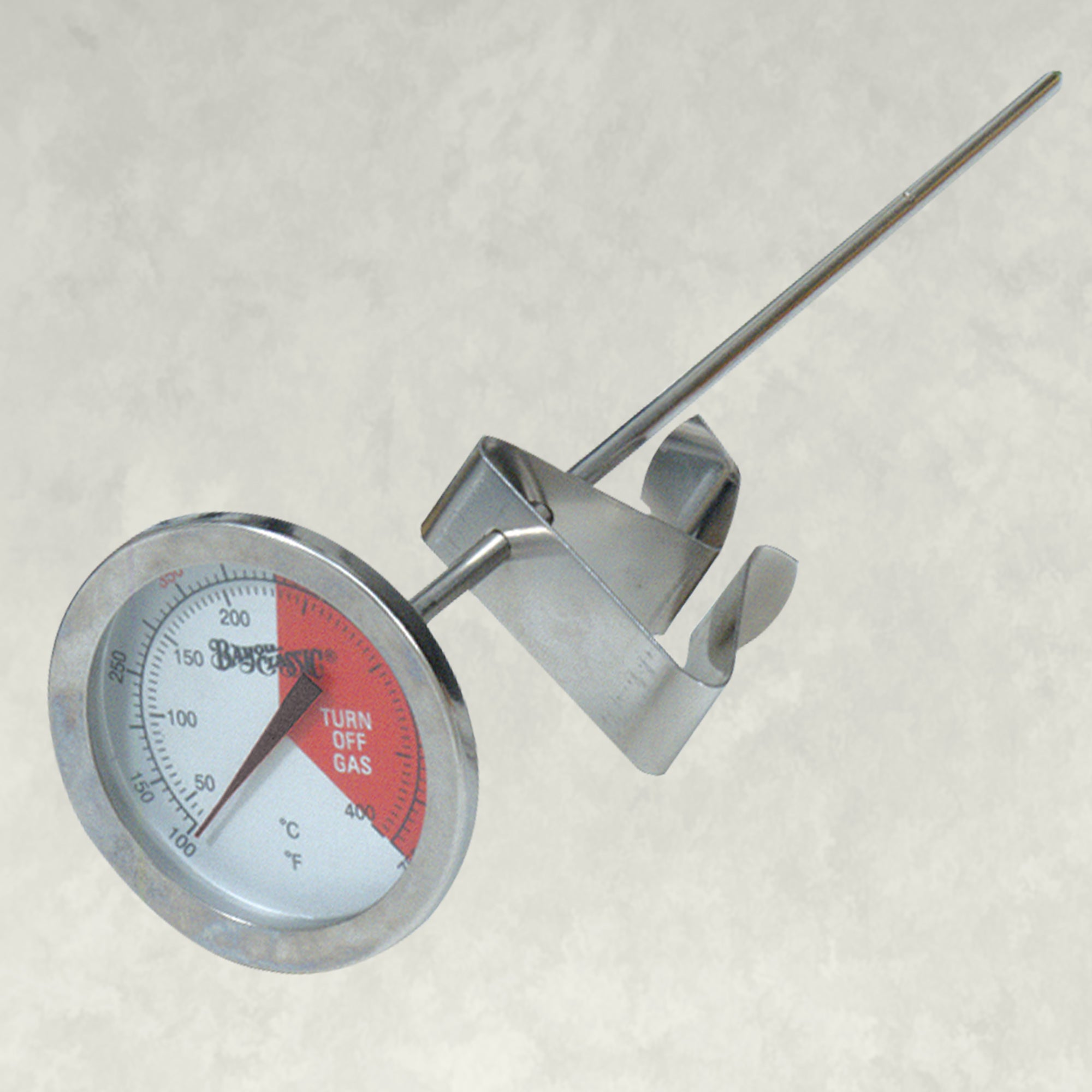 Bayou® 5-in Stainless Fry Thermometer