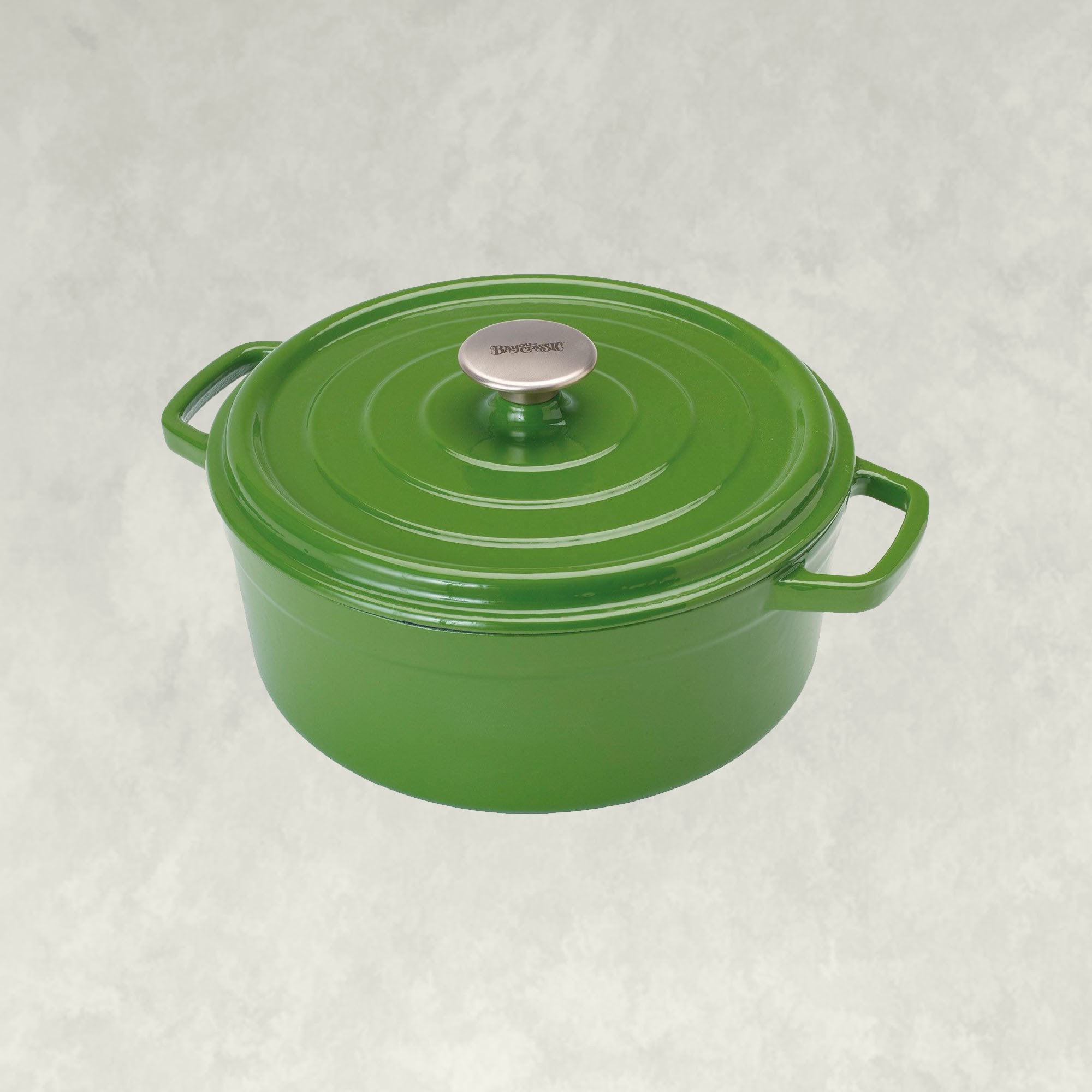 free shipping, Exclusive Enamel Cast Iron Collection, in cypress green